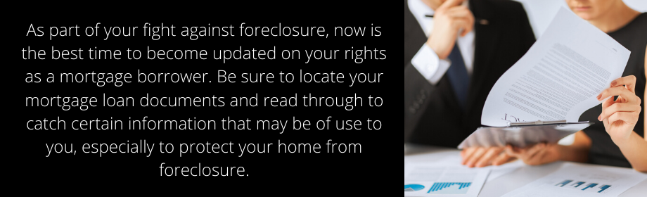 Foreclosure Prevention Options